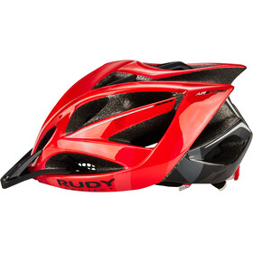 Rudy Project Airstorm MTB Fietshelm, red/black camo shiny